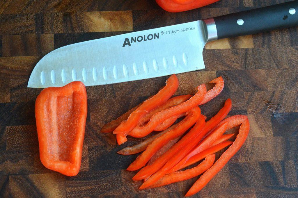 Anolon santoku Knife from potsandpans.com