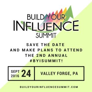 Build Your Influence Summit 2016