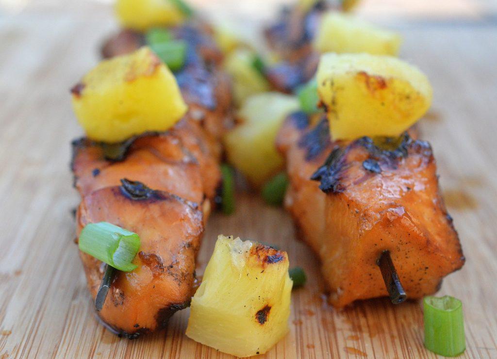 Hawaiian Chicken Kabobs Food Network