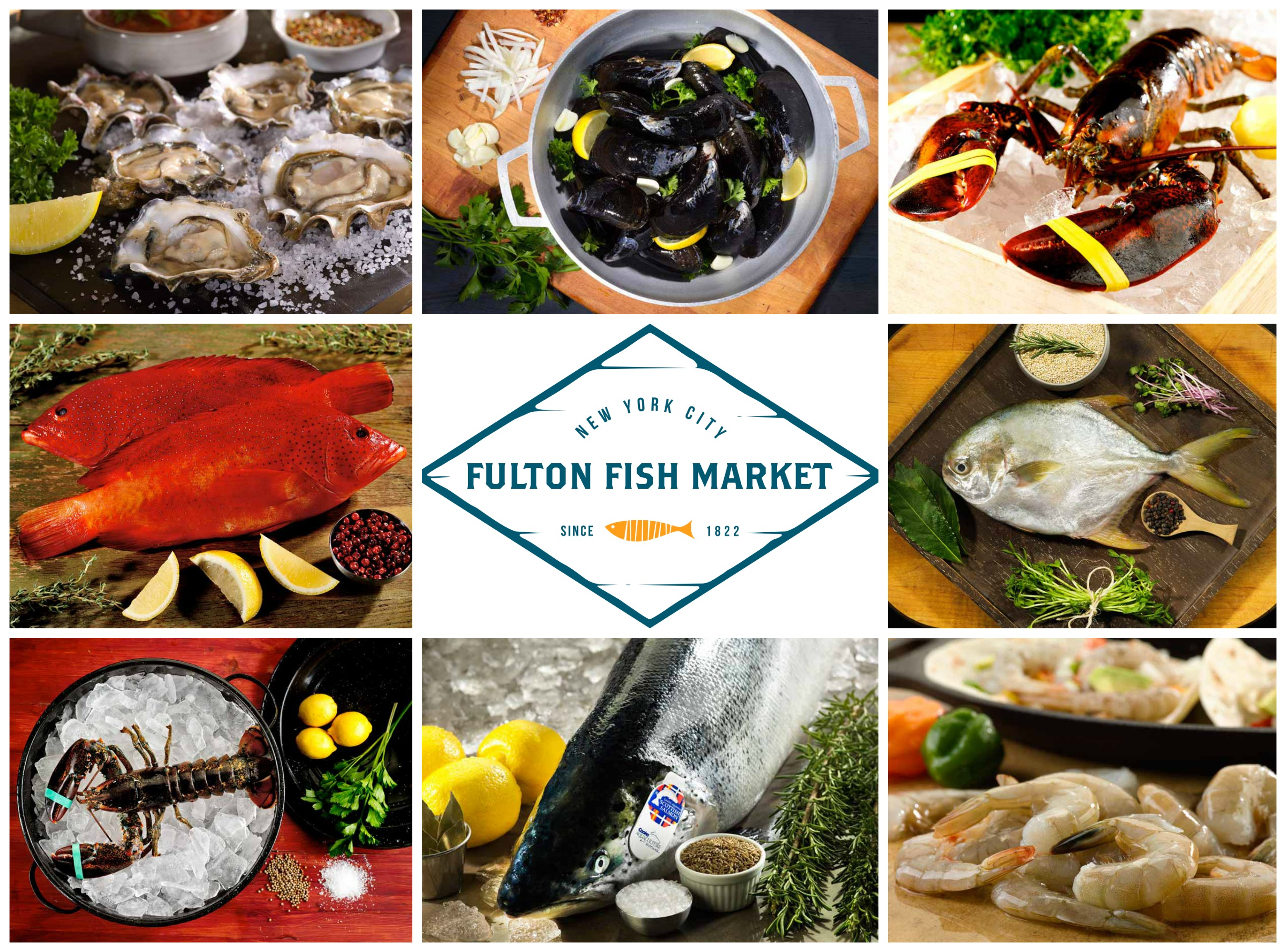 NYC's Fulton Fish Market - The freshest fish delivered from the ocean to your door!
