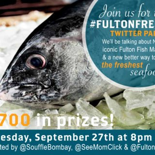 #FultonFresh Twitter Party September 27 8pm ET – RSVP Here!