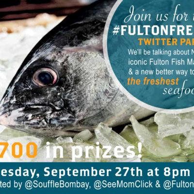 #FultonFresh Twitter Party September 27 8pm ET - RSVP Here!