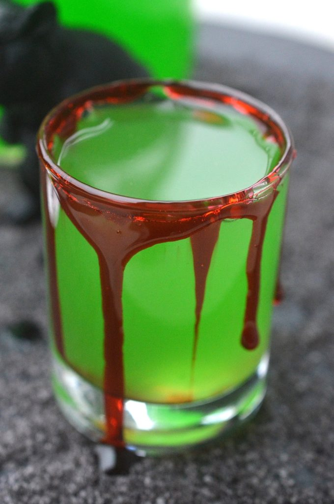 Halloween Moonshine - Halloween Cocktails - The Poison Frog