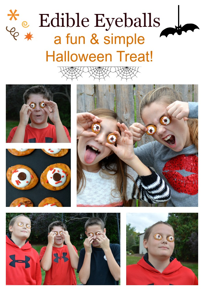 Halloween Recipe - Edible Eyes