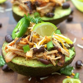 Pulled Pork Stuffed Avocado