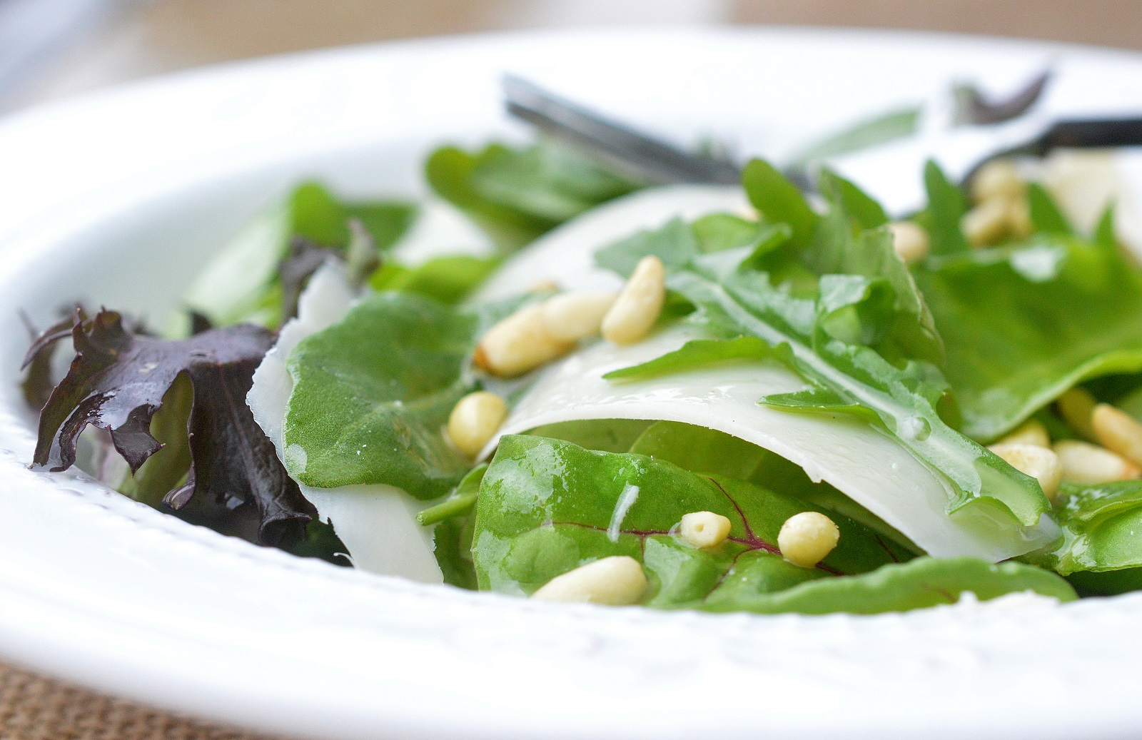 Arugula & Parmesan Cheese Salad