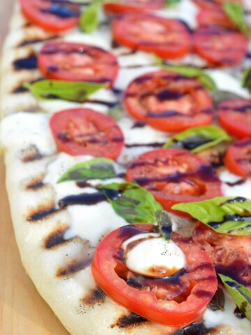 Caprese Pizza On Your Grill