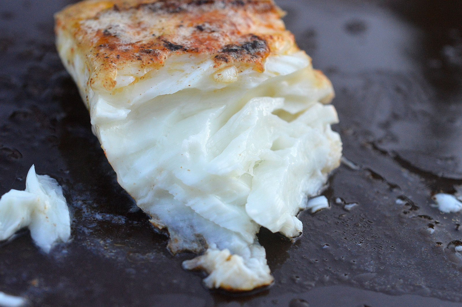 Fresh Halibut delivered to your door from FultonFishMarket.com Look at the color, its unbelievably fresh!
