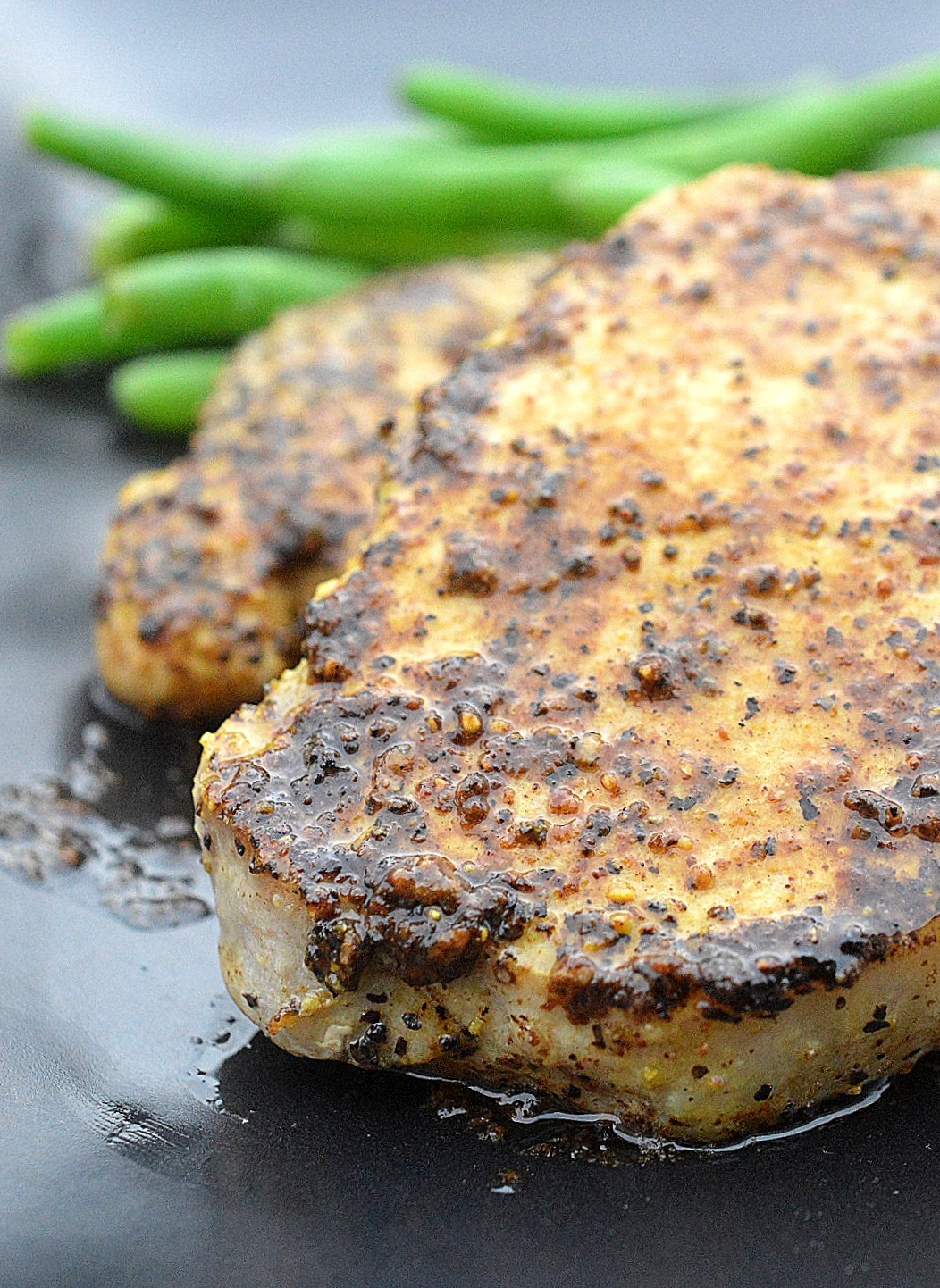 15 Minute Lemon Dijon Pork Chops