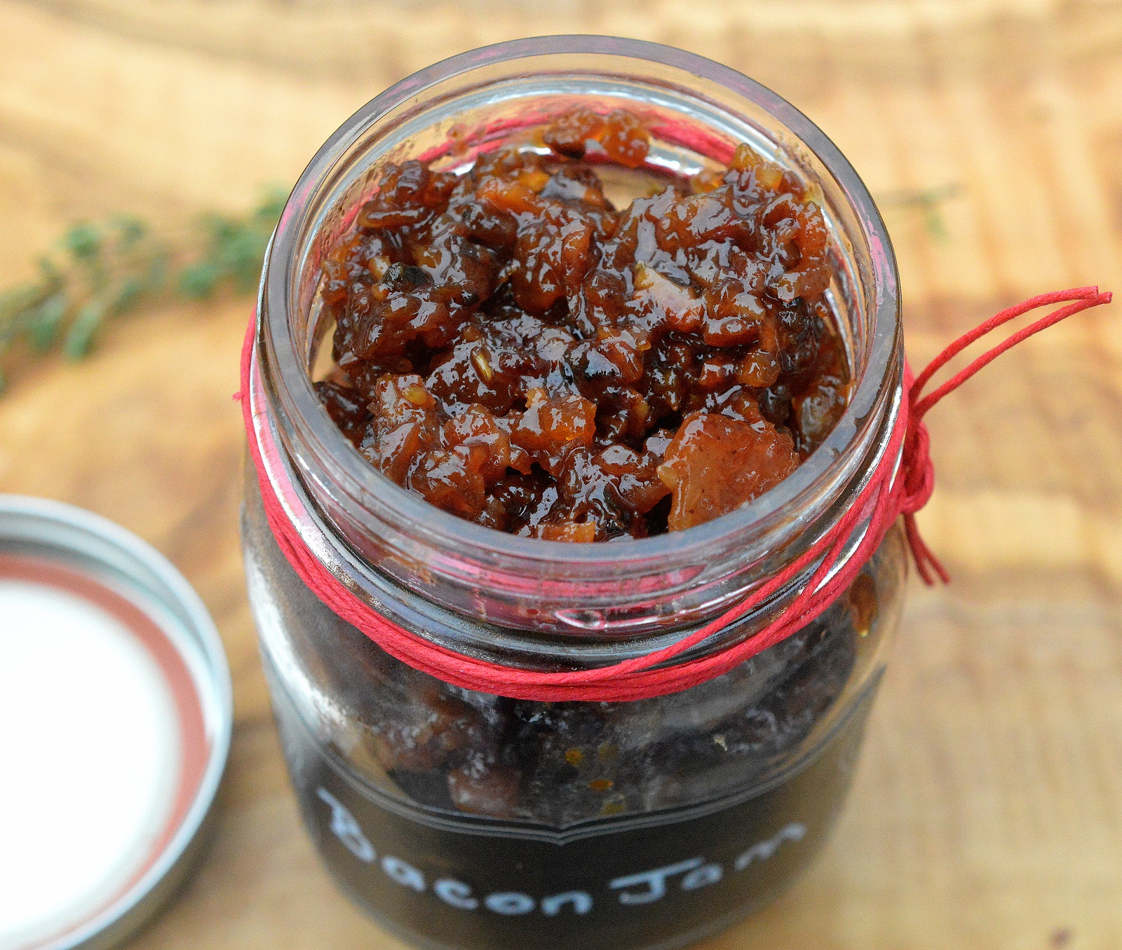 Bacon Jam is ridiculously delicious and different! Good on so many things!