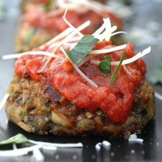 Cheesy Mushroom Meatless Meatballs - So delicious and full of flavor. People will be surprised there is not meat in these!