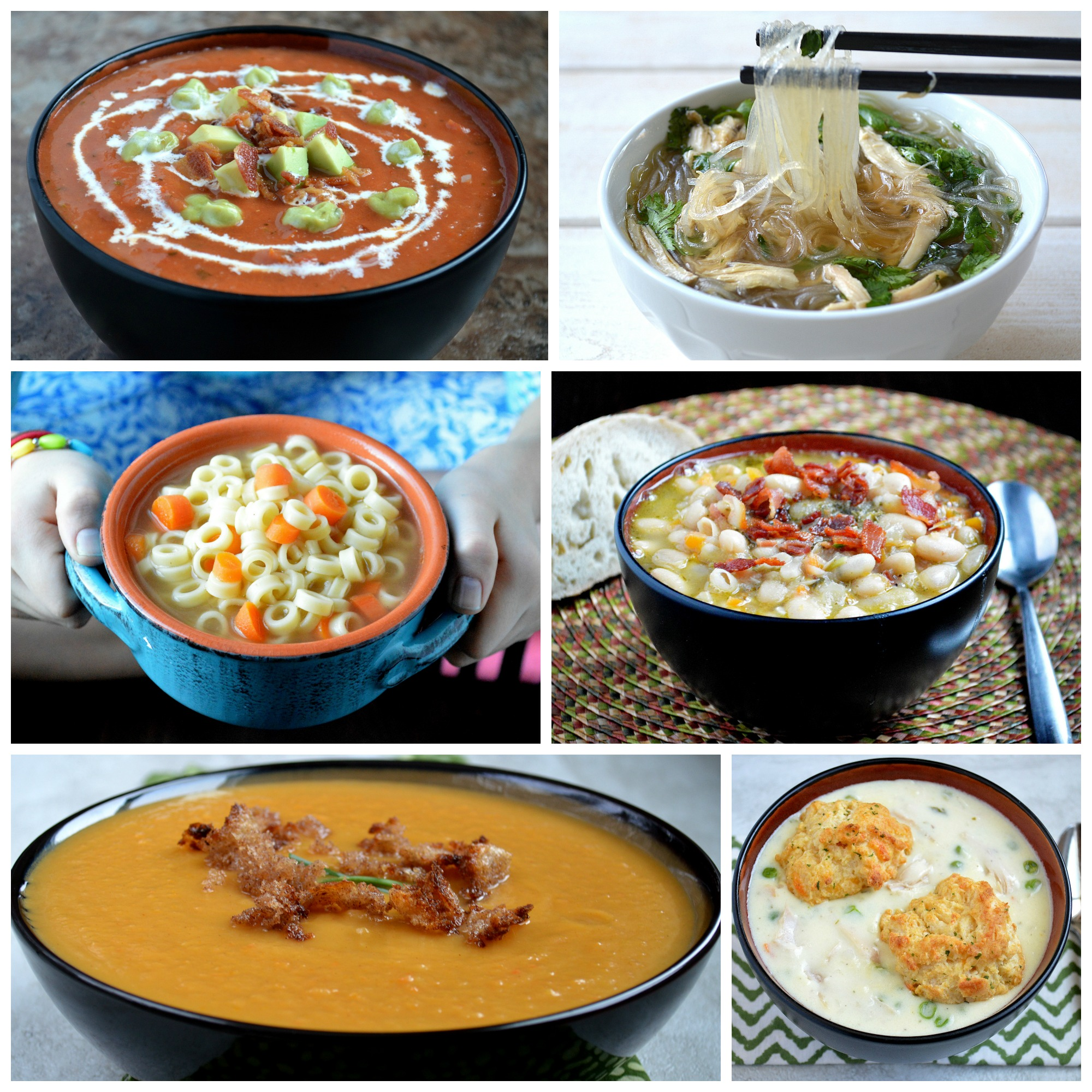 My Favorite Homemade Soups