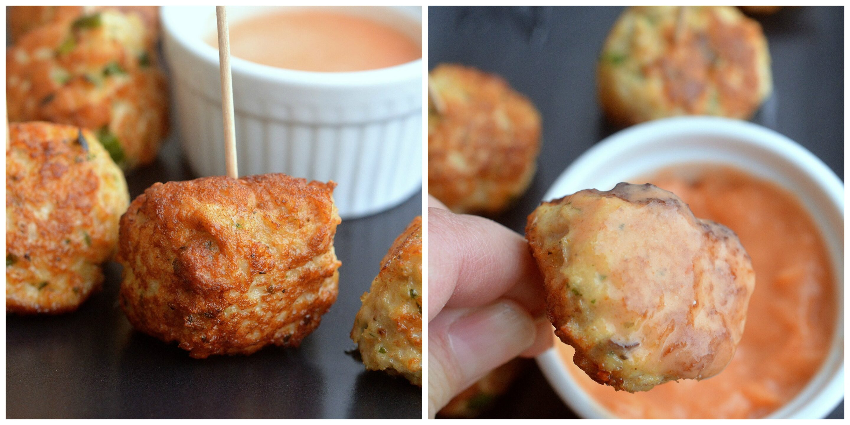 Tastes like a Chicken Nugget (but way healthier and full of flavor...dairy free)
