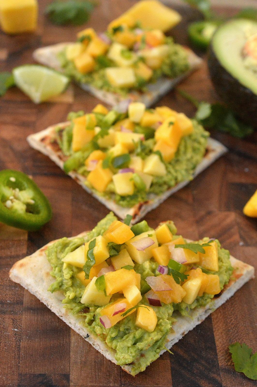 Delicious & refreshing Avocado Mango Toast