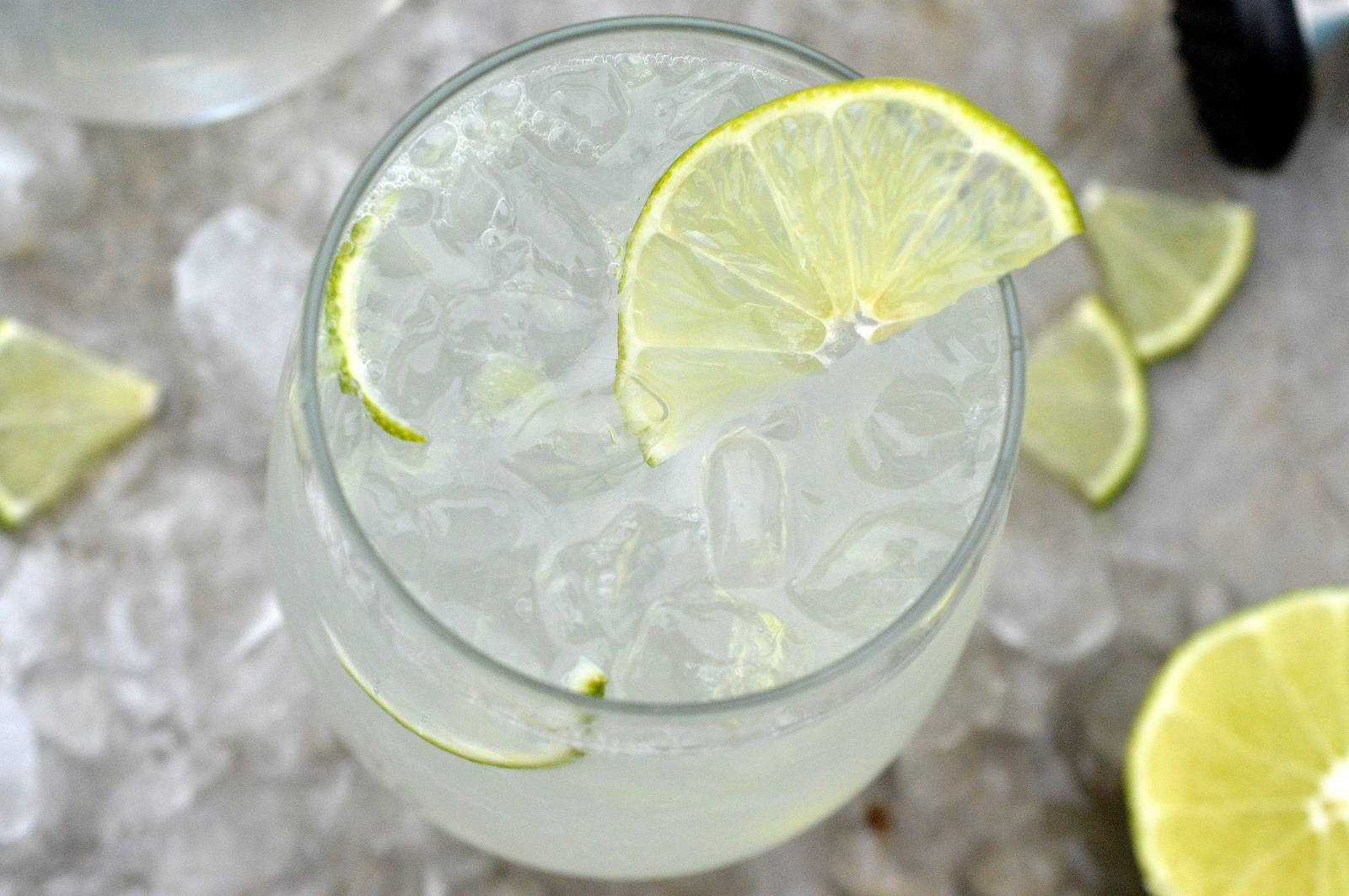 Homemade Low Carb Vodka Lime Coolers - Half the calories of a traditional cooler plus...You know whats in it! Delicious & refreshing too!
