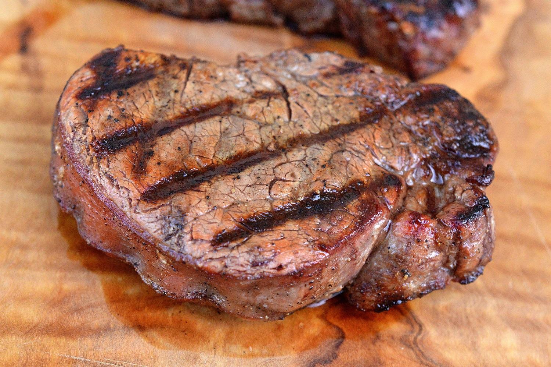 Grilled Fillet Mignon Steak
