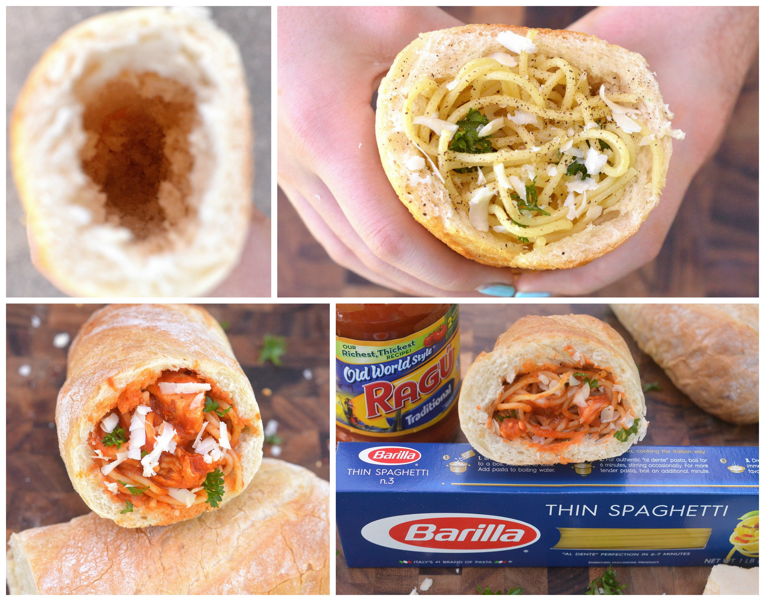 Homemade Pasta Pockets! An easy meal the whole family will love...even on the go!
