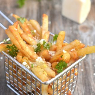 Beer Battered Garlic & Parmesan French Fries