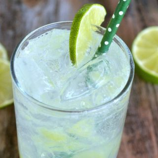 Homemade Lime Soda