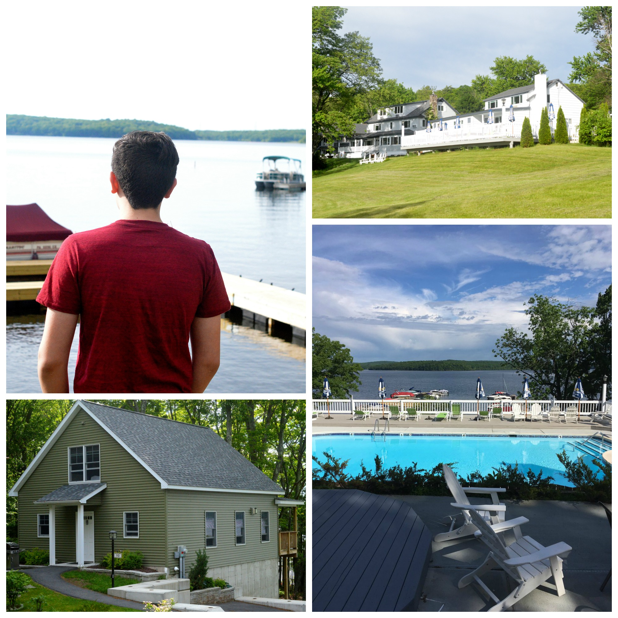Silver Birches Resort on Lake Walenpaupack Lakefront Rentals