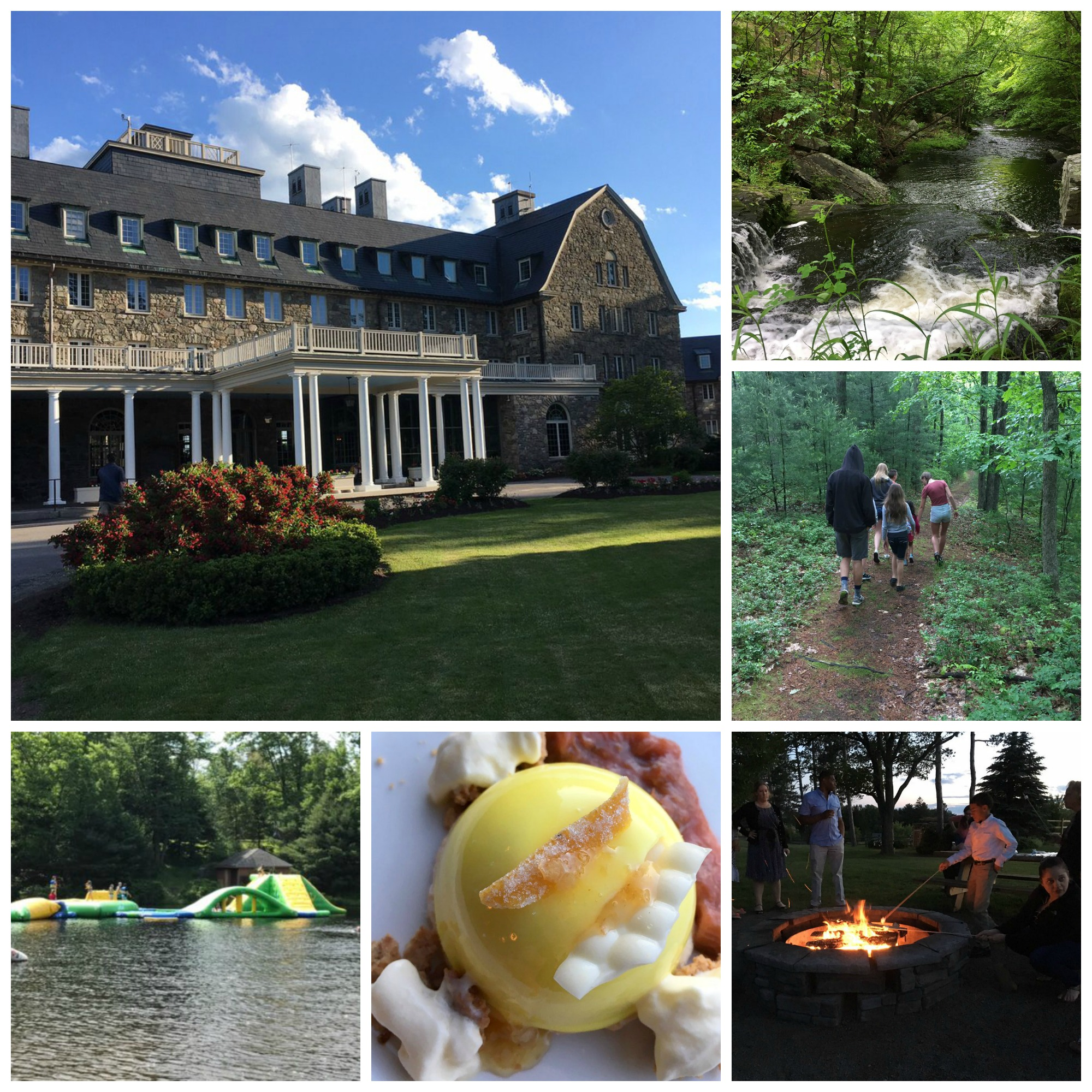 Skytop Lodge - One of the BEST family vacation resorts in the PA Poconos