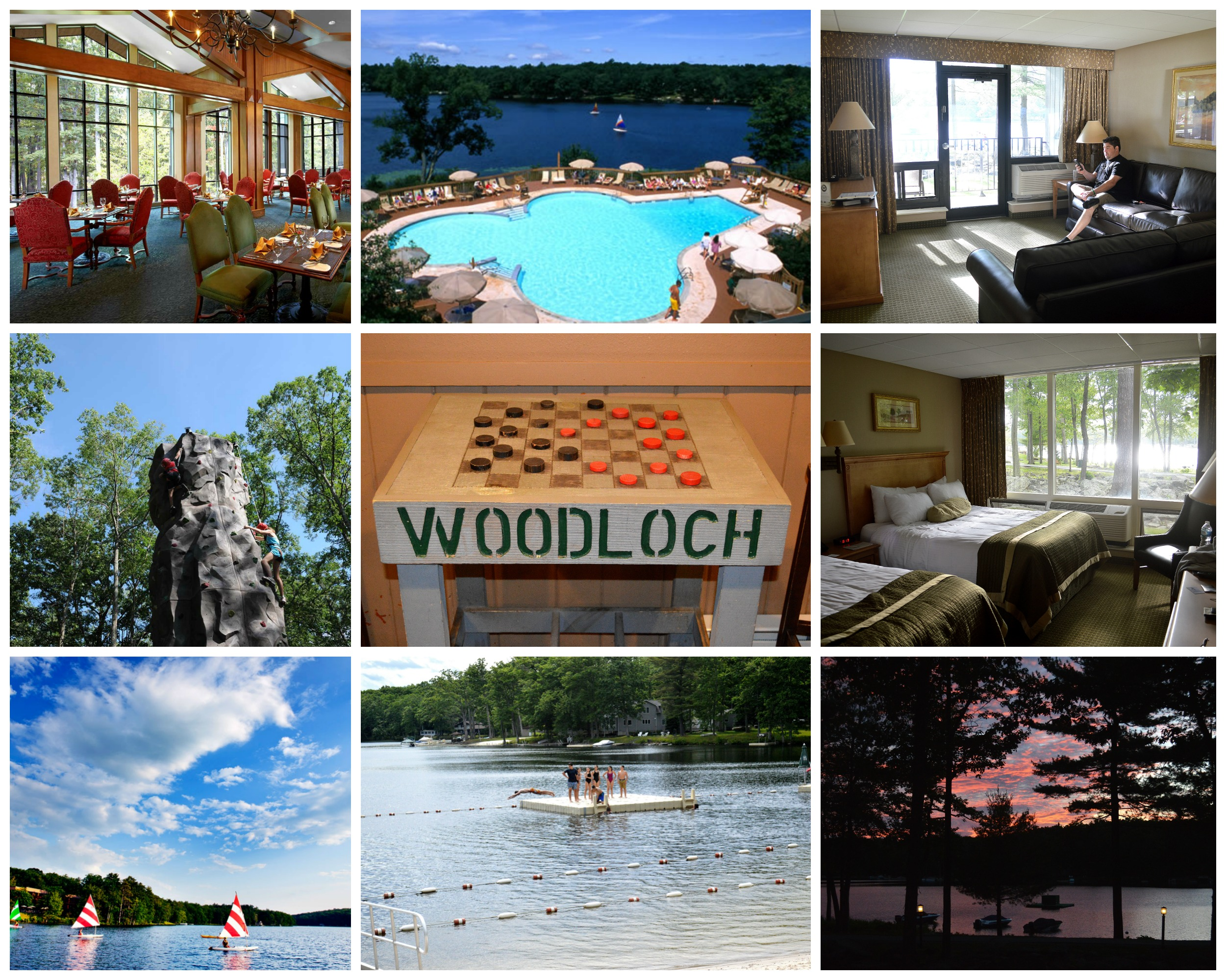Woodloch Resort in the PA Poconos a full filled Dirty Dancing-esq vacation spot!