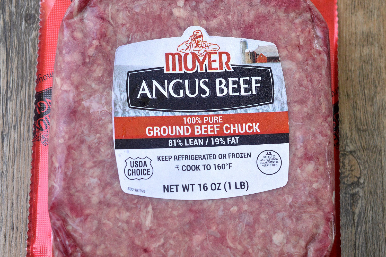 Moyer Beef ground beef. Family friendly beef grown on small family farms for 150 years!