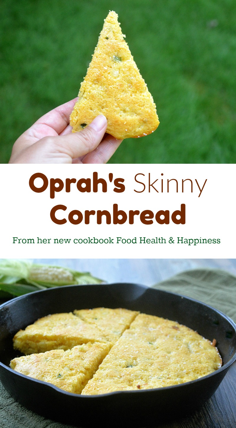 Oprah's Skinny Cornbread Recipe - Yum!! She can't live without it, so she lightened it up.