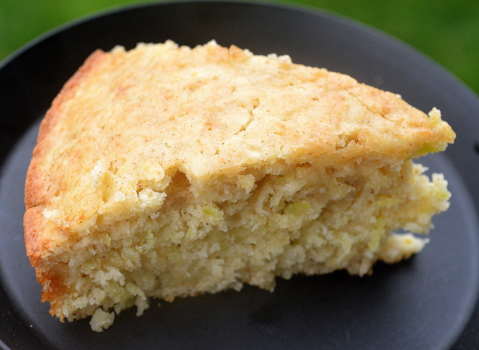 Skillet Zucchini Yogurt Cake. Sweet and moist...Delicious!