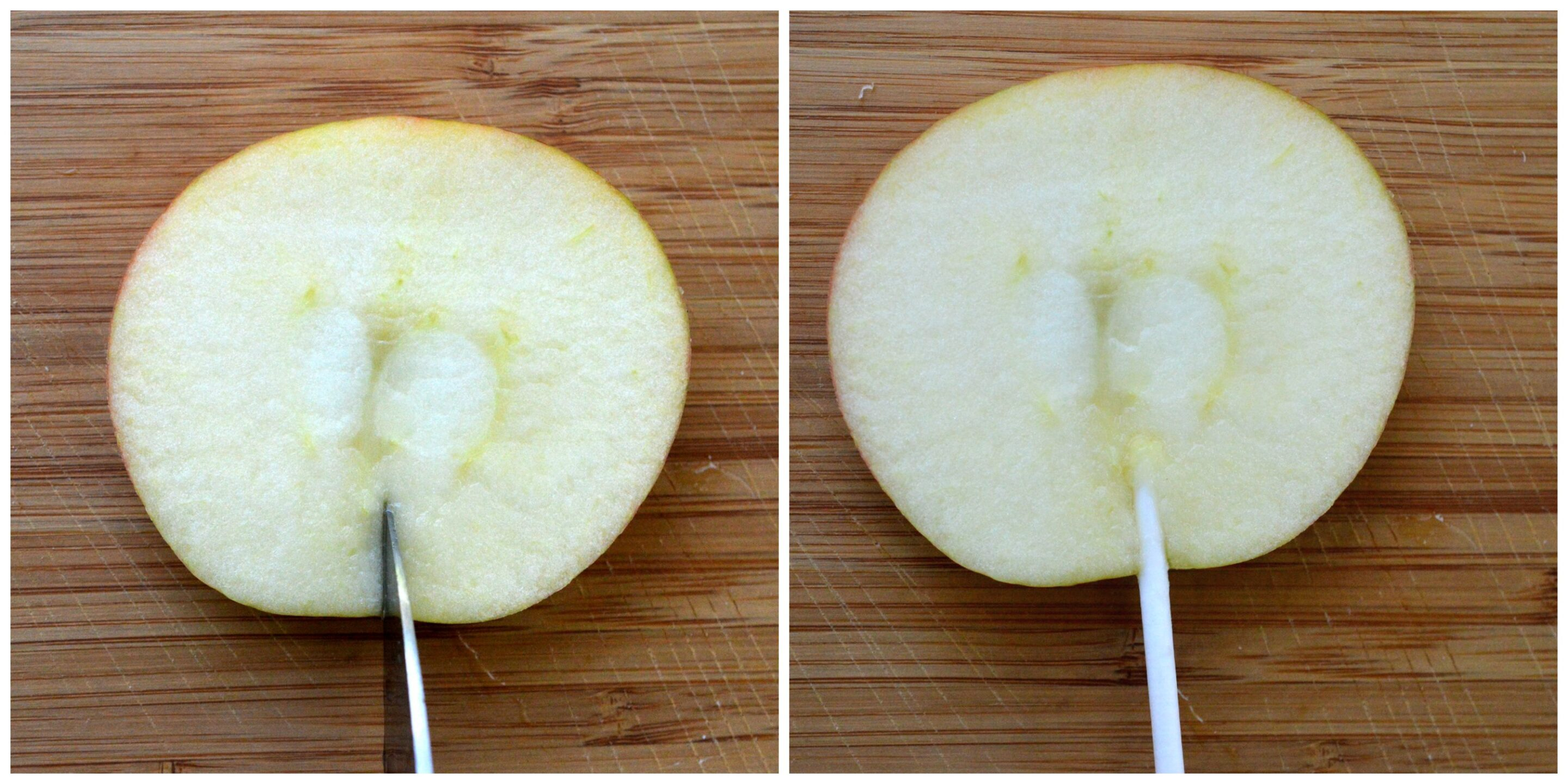 How to Make Candy Apple Slices