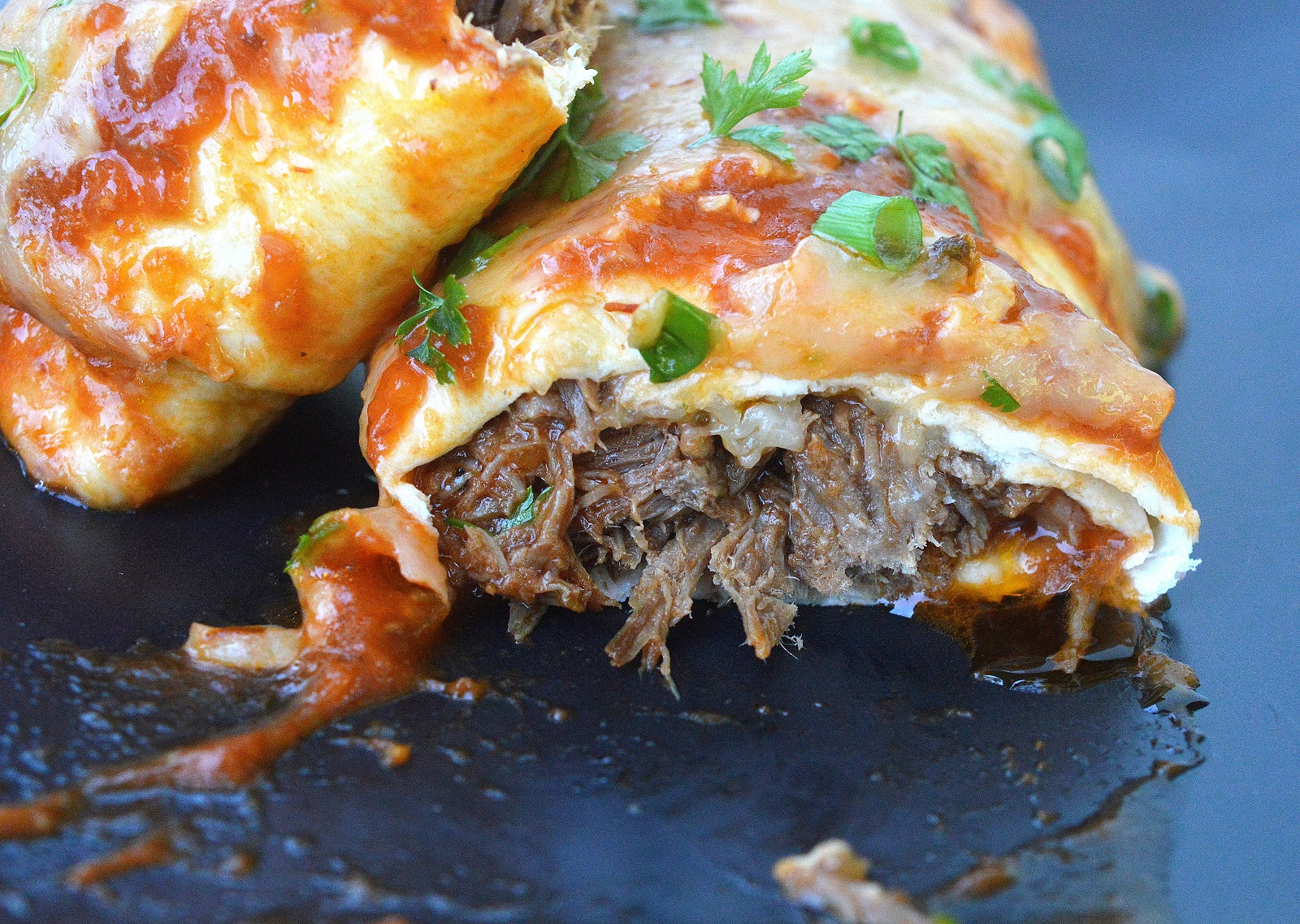 Incredibly delicious Beef Enchiladas These are SO good, they could be the best you've ever had in or out!