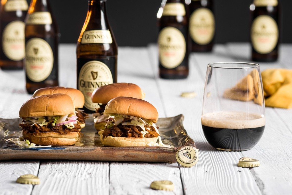 Guiness Pulled Pork Sliders with Creamy Dijon Slaw Ultimate List of Recipes to Make with Pulled Pork