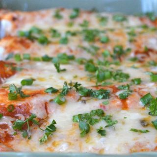 Incredibly delicious Beef Enchiladas with homemade sauce. You want these in your life!
