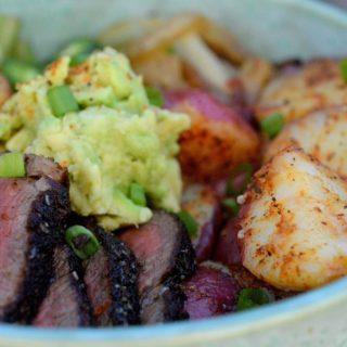 Potato Fajita Bowl