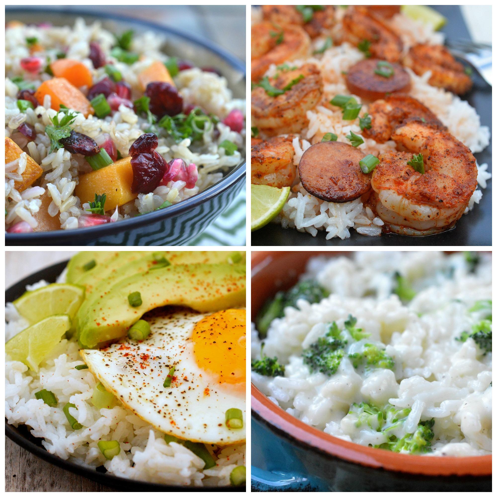 Easy Rice Dinners