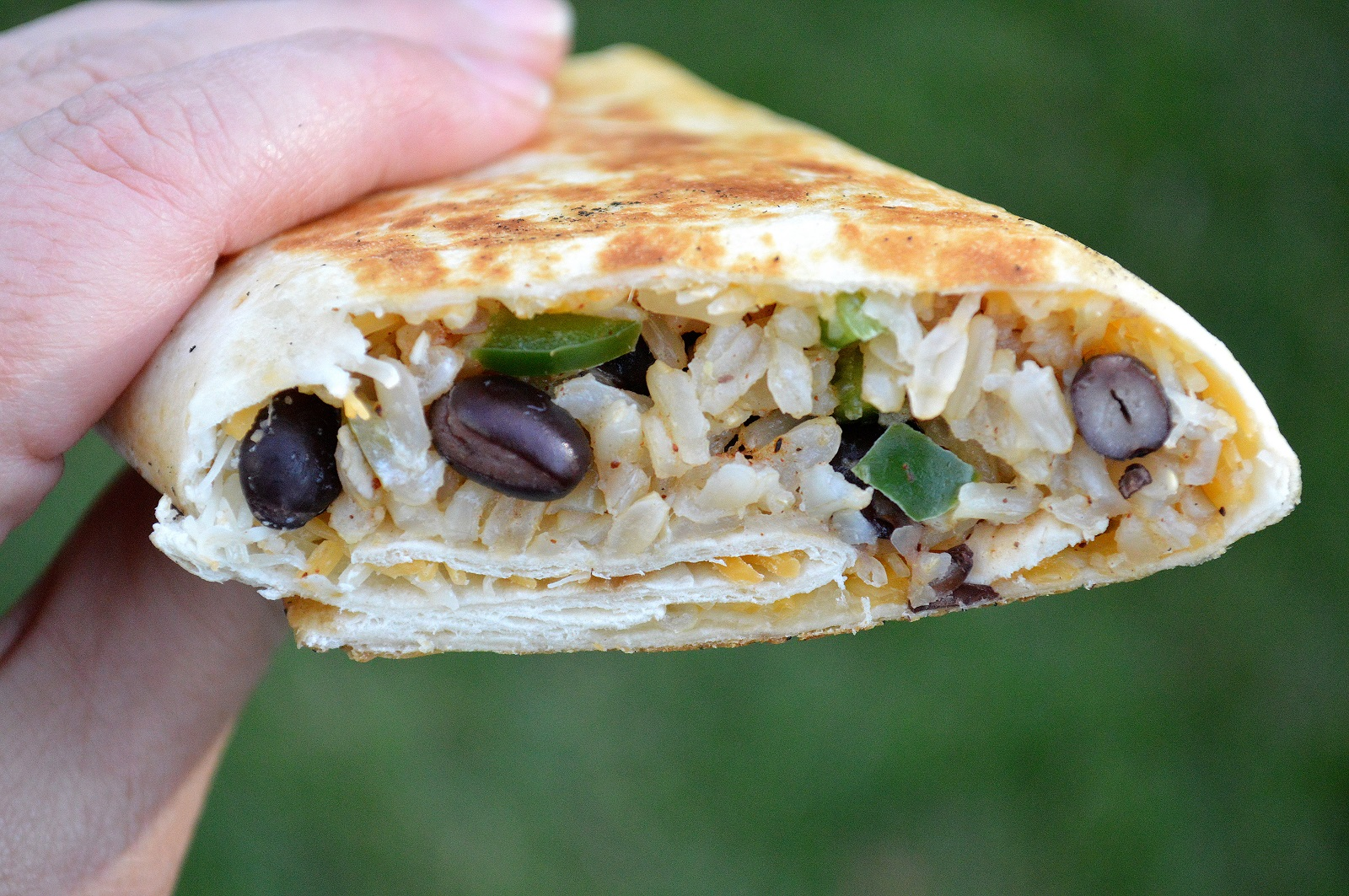 ftover Turkey Recipe - Crispy Turkey & Rice Burritos! Easy and full of flavor, Choose chicken as well