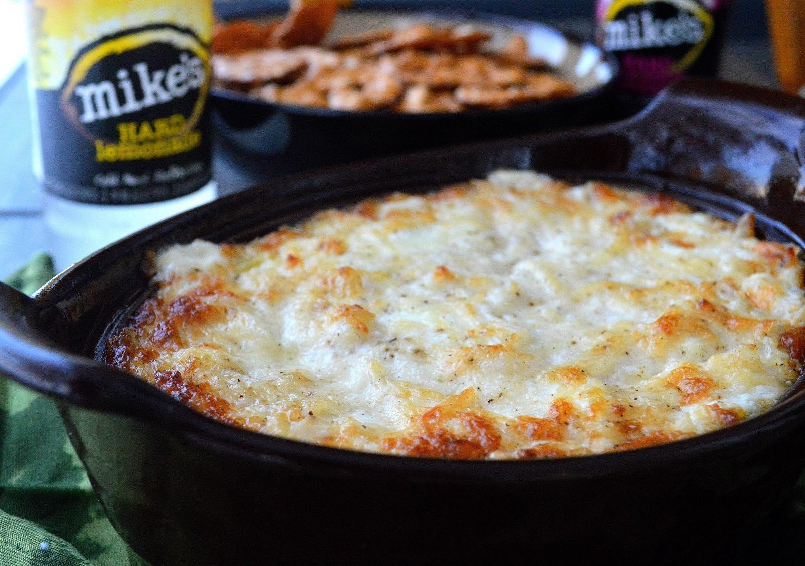 The BEST Hot Onion Dip, just 5 ingredients until YUM!!!