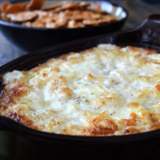 The BEST Hot Onion Dip