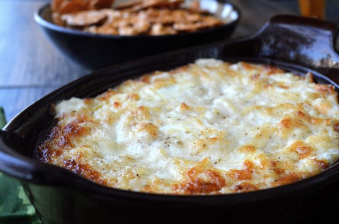 BEST Hot Onion Dip