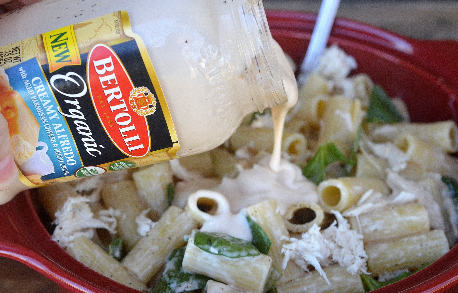 Easy Recipe Chicken Pasta Alfredo