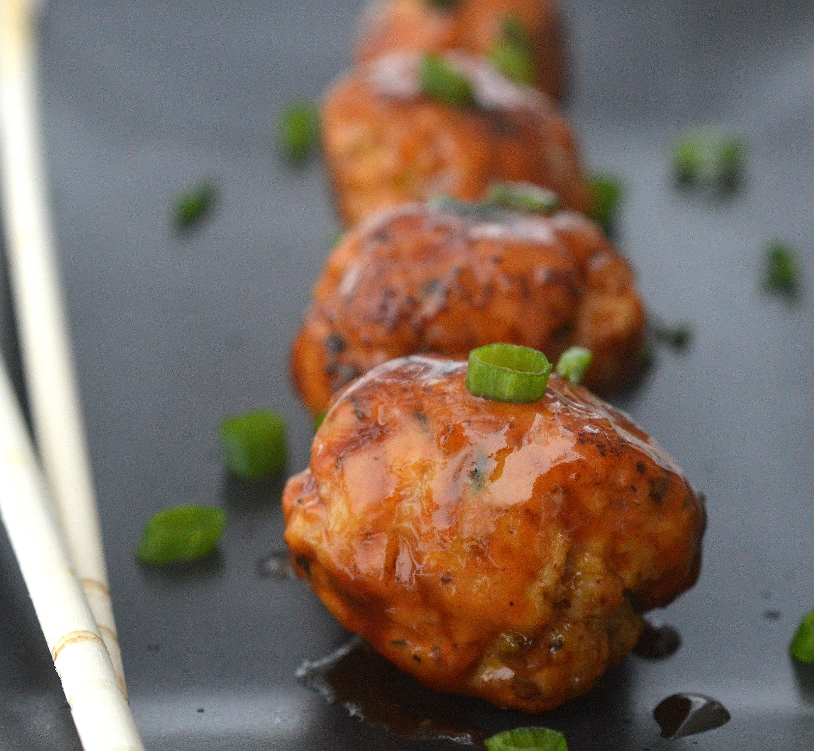 Sticky Chicken Meatballs, you will want to make these again and again!