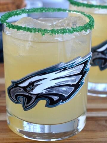 The Philadelphia Eagles Limebacker Cocktail