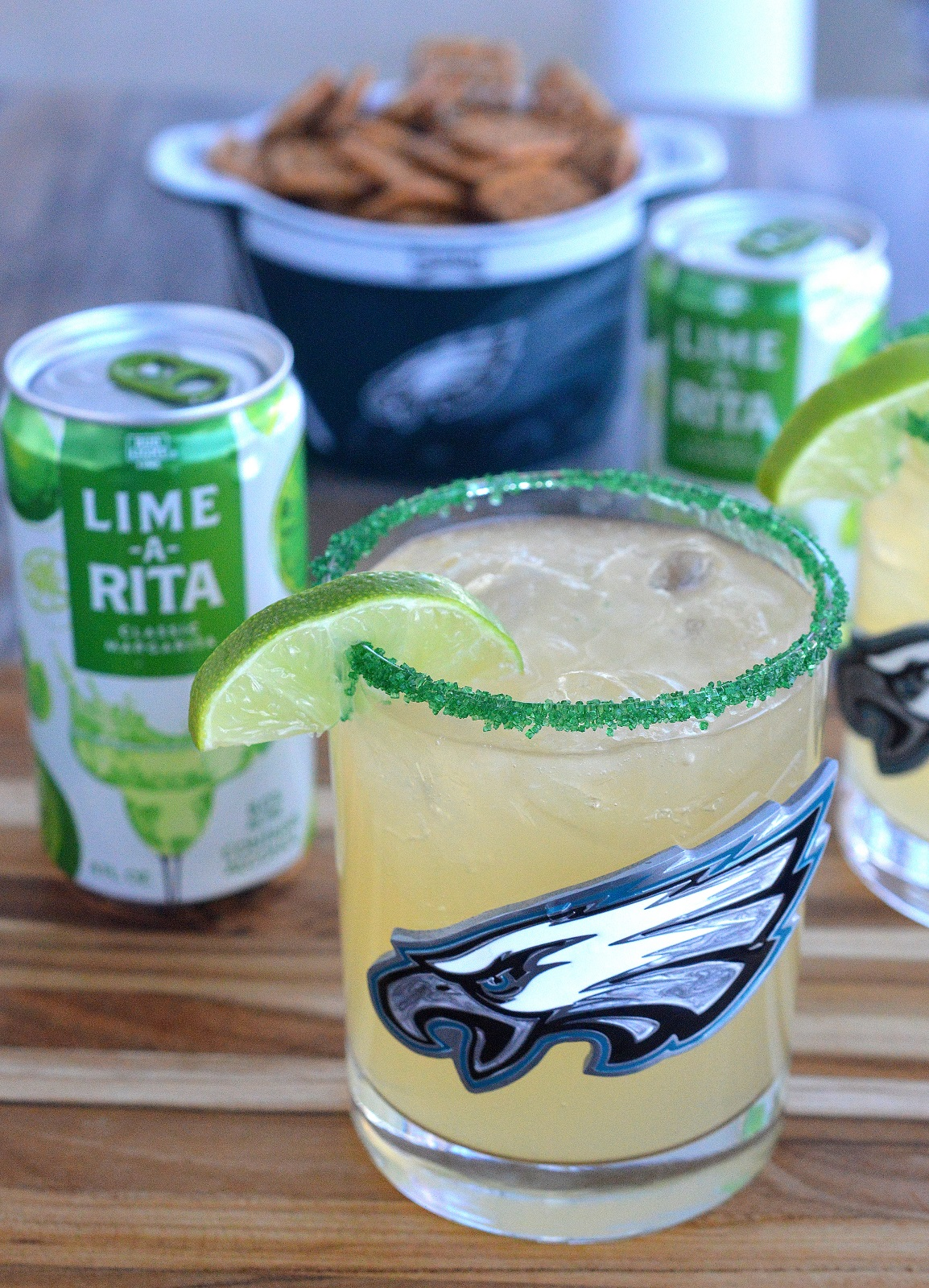 The Philadelphia Eagles Limebacker Cocktail