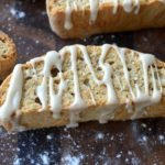 Caramel Cappuccino Biscotti with a Caramel Cappuccino Drizzle Delicious & different & easy to make!