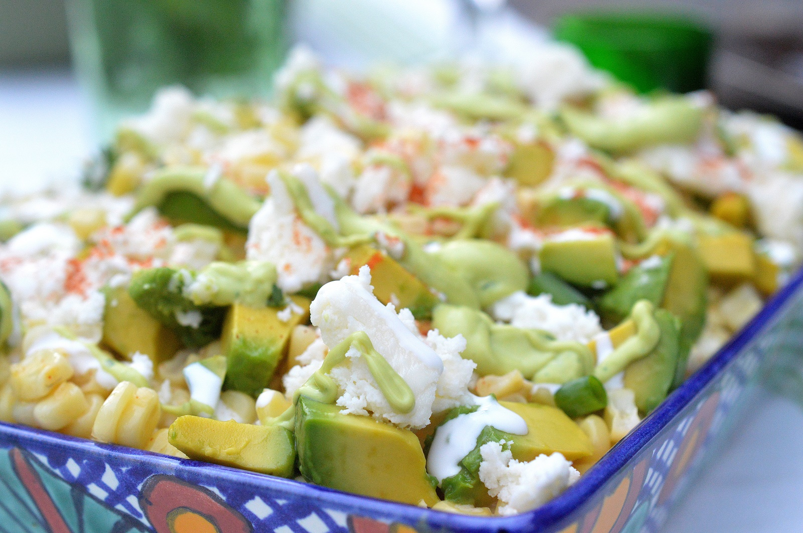 Mexican Street Corn Salad OMG Delicious!