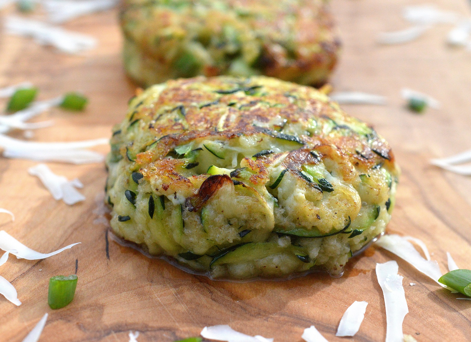 These Cheesy Zucchini Cakes are different and delicious! Plus they are low carb and keto friendly!