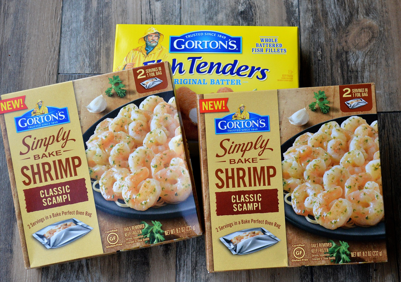Gorton's Simple Bake Shrimp Scampi
