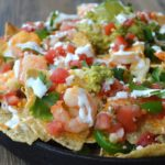 Shrimp Nachos, Easy, light and fun!