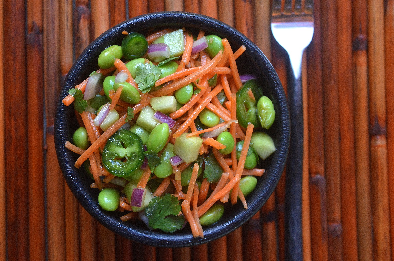 Love this Asian Edamame Salad!
