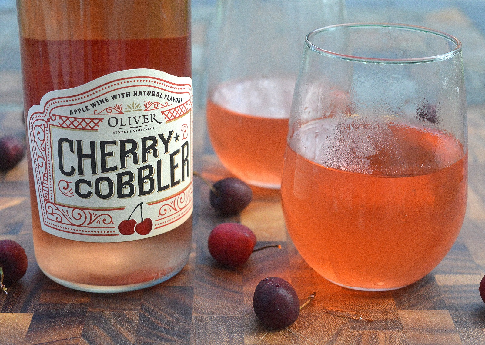 Cherry Cobbler Wine from Oliver Winery